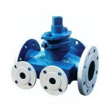 Jacketed Three-Way Plug Valve (GABX44F)